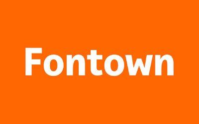 Fontown, la solución ideal para las tipografías