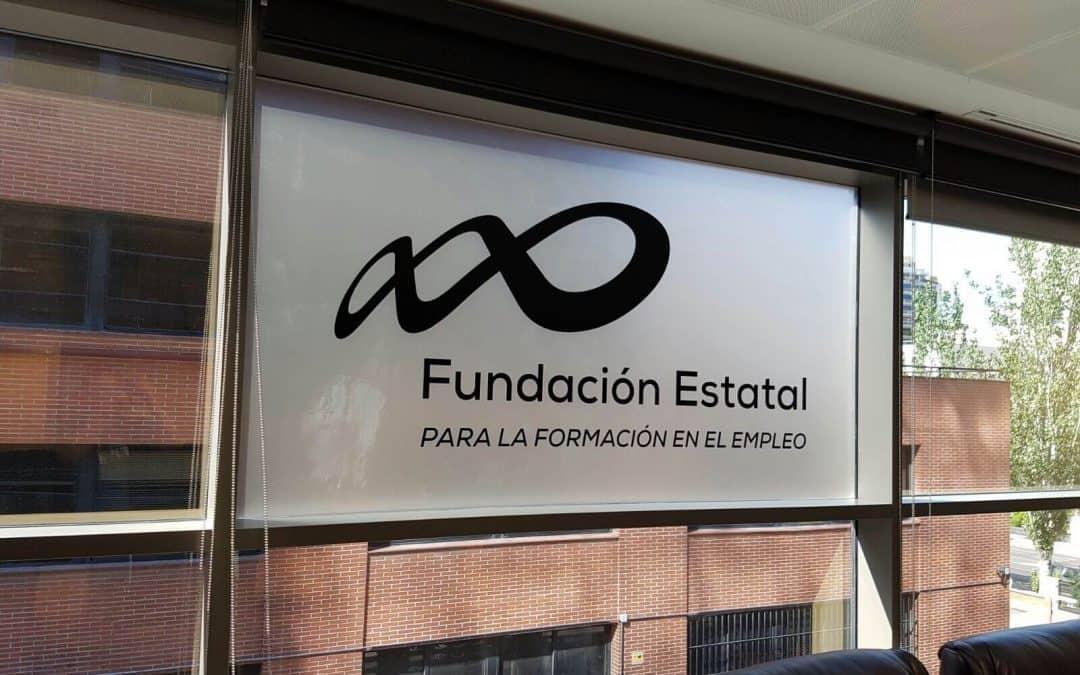 Logotipo corpóreo: Fundación Estatal para la Formación en Empleo