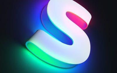Tipografías como fuente de luz